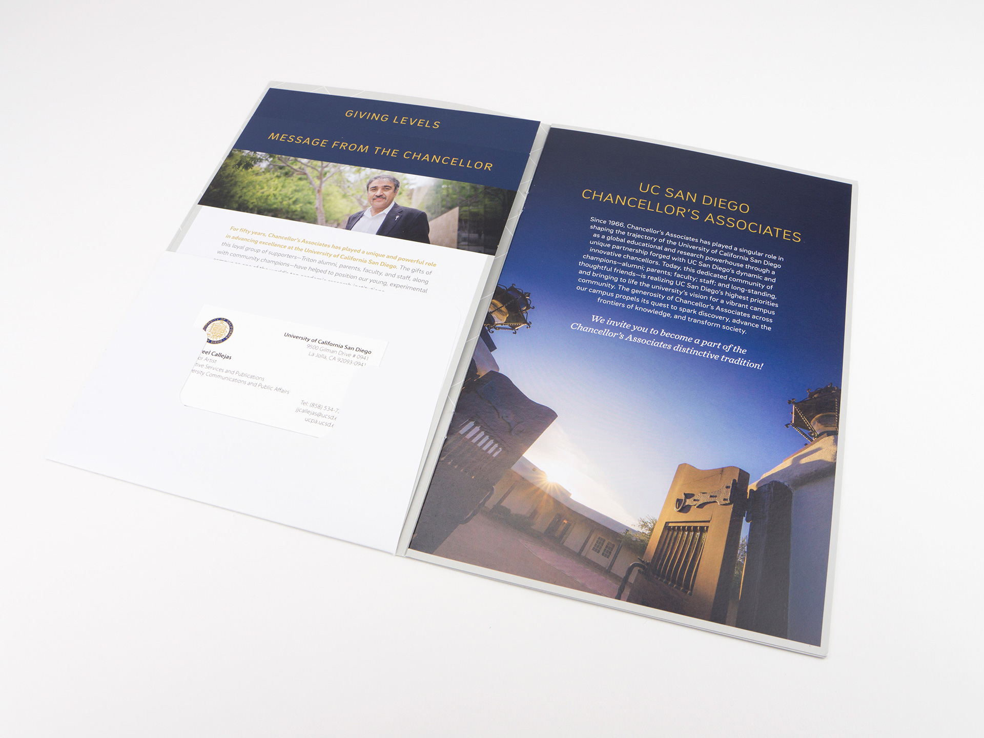 UC San Diego - Chancellor's Associates Solicitation Packet