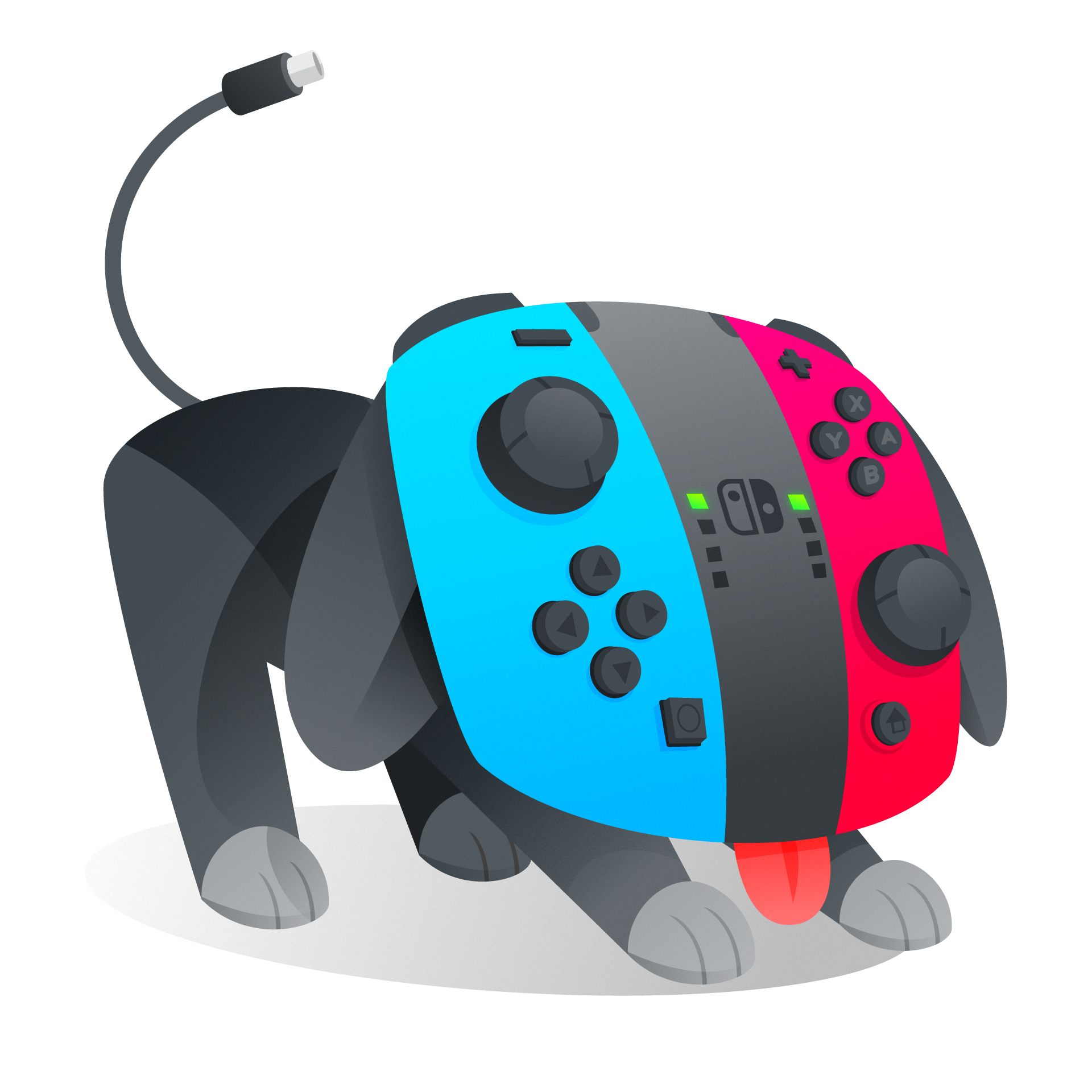 Switch Joycon Pup