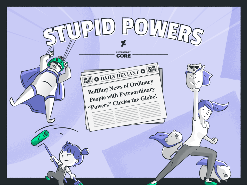 DeviantArt: Stupid Powers Challenge - Key Art